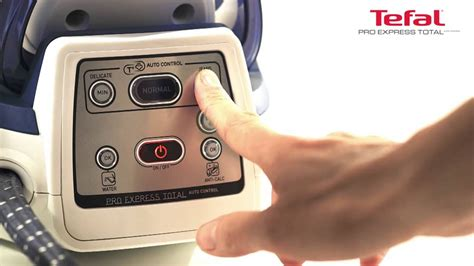 Tefal Pro Express Total Auto Control GV 8960 - YouTube