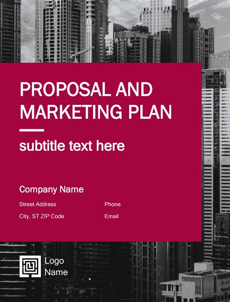 7 Free Business Plan Proposal Templates In Word Docx And