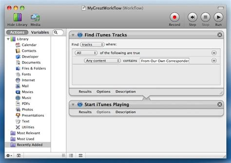 How to Run an Automator Workflow to a Schedule