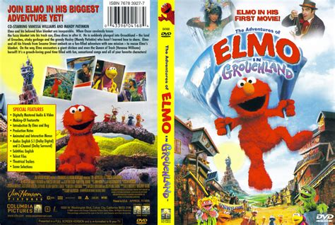 The Adventures of Elmo in Grouchland   DVD Database