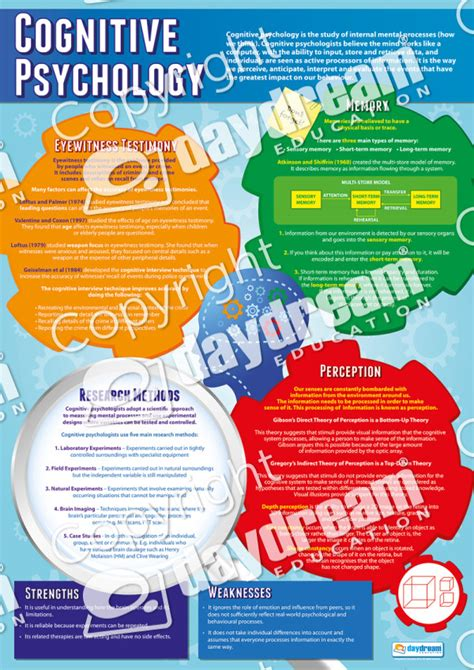 Psychology   A1 Educational Posters and Teaching Resources
