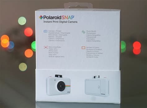 Polaroid Snap Instant Images