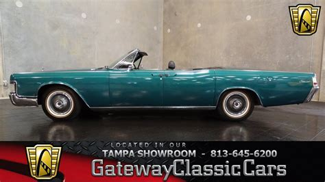 1966 Lincoln Continental Convertible - YouTube