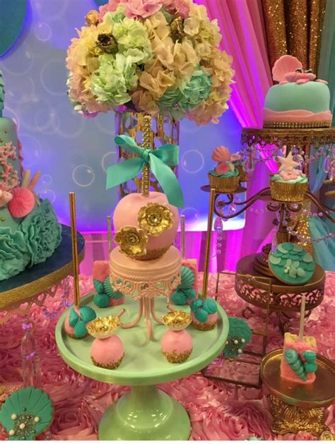 Mythical Mermaid Baby Shower - Baby Shower Ideas - Themes