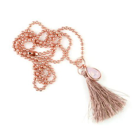 Necklace Rose Water Opal Drop ballchain ★ Look at the Stars