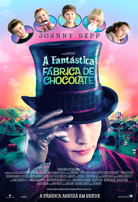 Jaquette/Covers Charlie et la Chocolaterie (Charlie and