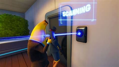 Fortnite ID scanners: how to open doors locked by an ID
