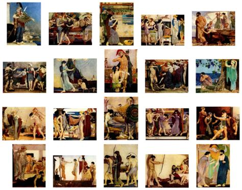 The Best of William Russell Flint - Myth, Fable and Fairy