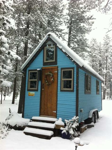 Tiny Blue House - tiny_house for Rent in Nederland