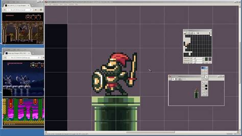 How to pixel art characters tiles and backgrounds for