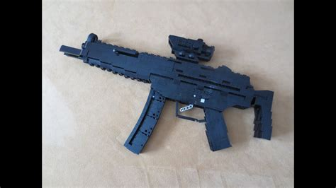 Lego: Shell Ejecting MP5 (Working) - YouTube