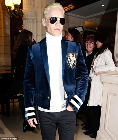 Jared Leto debuts new hair color for Suicide Squad   Daily