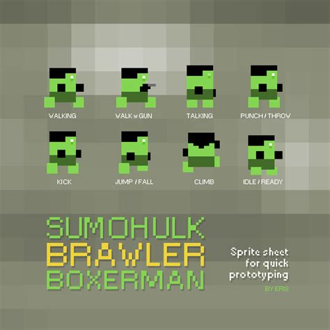Sprite sheet - sidescoller cycles   OpenGameArt