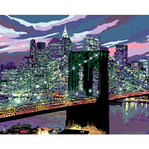 Paint by number new york - Pbn - New York Skyline Paint By