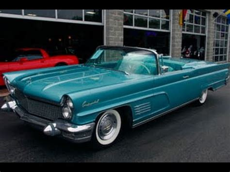 1960 Lincoln Mark V Convertible - Vintage Classic American