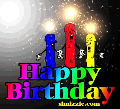 Happy birthday animated gif with sound 4 » GIF Images Download