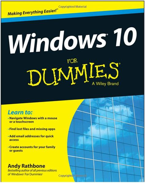 Review: Windows 10 For Dummies