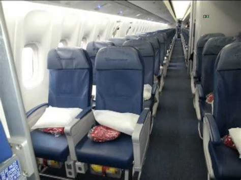 delta airlines 767 300 economy comfort class seat review