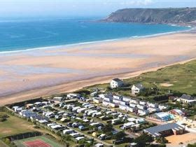 Camping Le Grand Large in Les Pieux, Manche